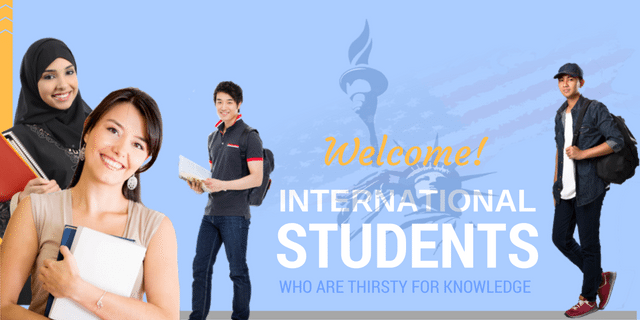 international students hungry for knowledge